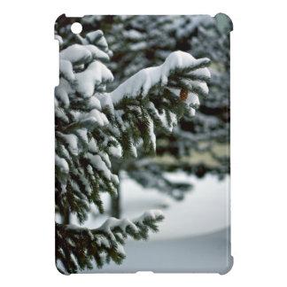 Evergreen Winter Snow Cover For The iPad Mini