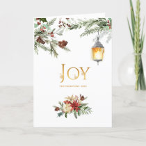 Evergreen - Wintertide Woodland Christmas Photo Holiday Card