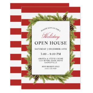 Open House Holiday Invitations Zazzle