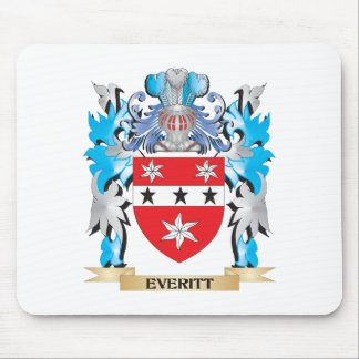 Everitt Coat of Arms - Family Crest Mouse Pad