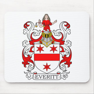 Everitt Coat of Arms I Mouse Pad