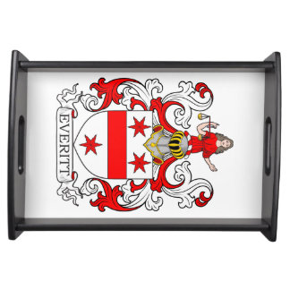 Everitt Coat of Arms I Serving Tray