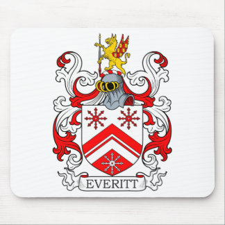 Everitt Coat of Arms II Mouse Pad