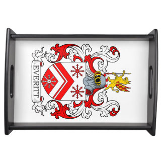 Everitt Coat of Arms II Serving Tray