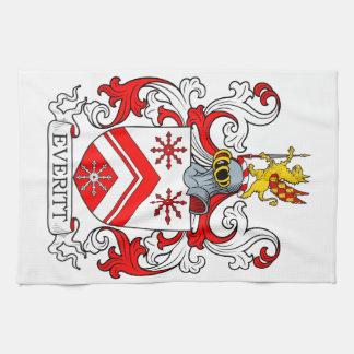 Everitt Coat of Arms II Towels