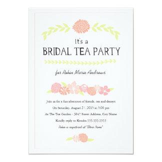 Everlasting Blossoms Bridal Tea Party  Invitation