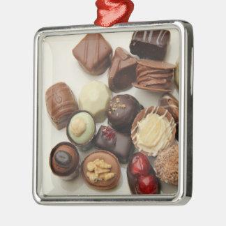 Everlasting chocolates metal ornament