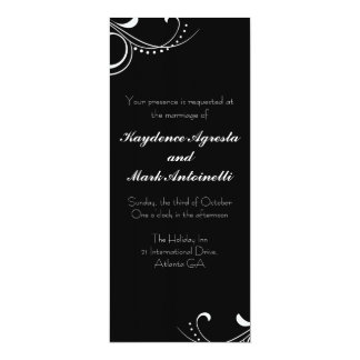 Everlasting Love Custom Wedding Invitation