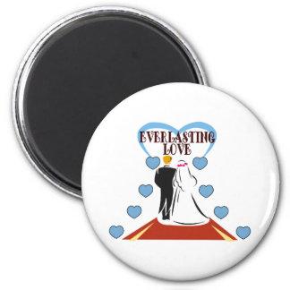 Everlasting Love Fridge Magnet