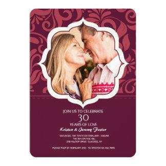 Everlasting Love Photo Invitation