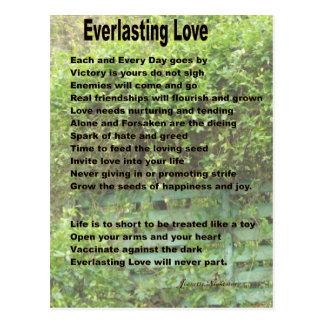 Everlasting Love Postcard