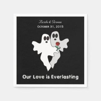 Everlasting Love Wedding Paper Napkins