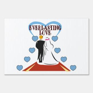 Everlasting Love Wedding Sign
