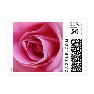 Everlasting Pink Postage Stamps