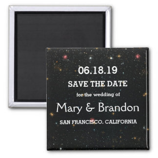 Everlasting Star Universe Nebula Wedding Magnet