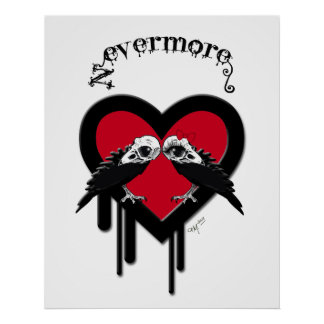 Evermore (Black Lettering) Poster