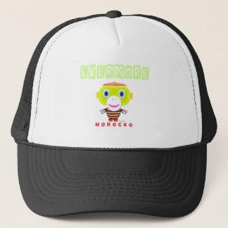 Evermore-Cute Monkey-Morocko Trucker Hat