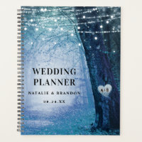 Evermore | Enchanted Forest Blue Wedding Plans Planner