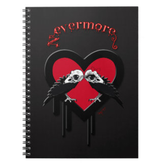 Evermore (Red) Notebook