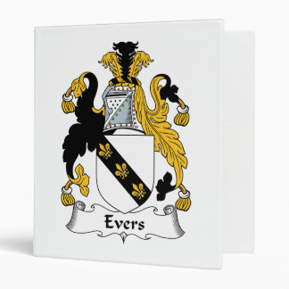 Evers Family Crest Binder