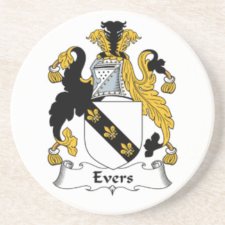 Evers Family Crest Coaster