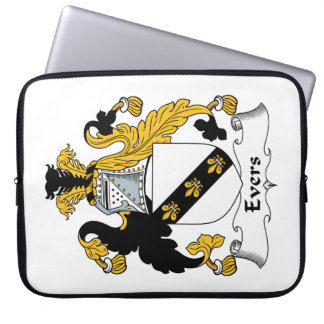 Evers Family Crest Computer Sleeve