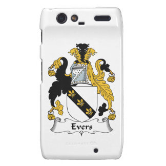 Evers Family Crest Droid RAZR Cover