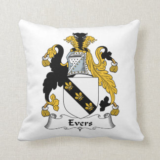 Evers Family Crest Pillow