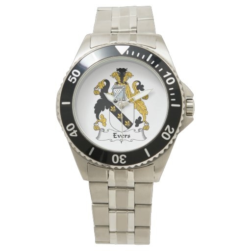 Evers Family Crest Wrist Watch