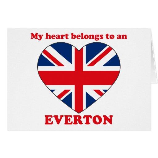 Everton Greeting Card