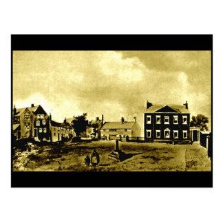 Everton Village Green, Liverpool, 1820 Postcard