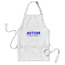Every 20 Minutes A Child Is Born With Autism Adult Apron
