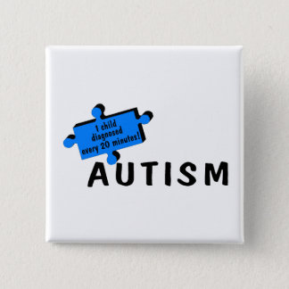 Every 20 Minutes A Child Is Diagnosed (Blue PP) Button