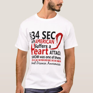 Every 34 Seconds Mom Heart Disease / Attack T-Shirt