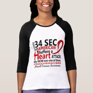 Every 34 Seconds Mom Heart Disease Attack T Shirt