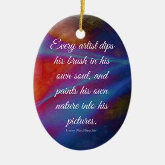 Every Artist.. Ceramic Ornament