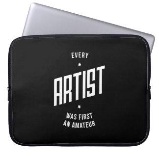 Every Artist Inspirational Laptop Bag Laptop Computer Sleeve