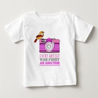 Every artist was first an amateur/Photographer Baby T-Shirt