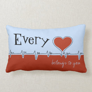 Every Beat American MoJo Pillow
