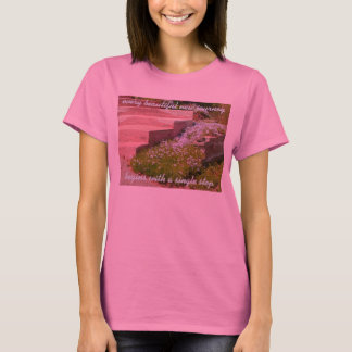 Every Beautiful New Journey Begins T-Shirt