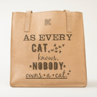 Every Cat Owner Knows Nobody Owns a Cat Tote