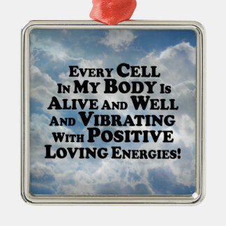 Every Cell In My Body- Multi-Products Metal Ornament