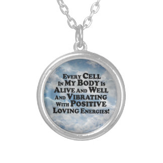 Every Cell In My Body- Multi-Products Round Pendant Necklace