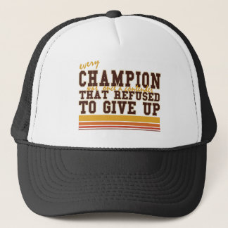 Every Champion and Contenders Sports Trucker Hat