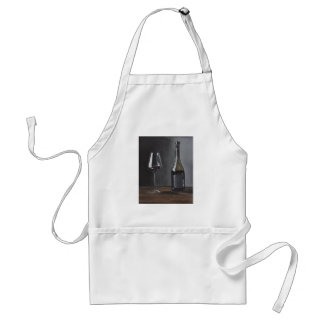 Every chef deserves a glass of wine! adult apron