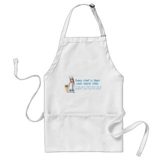 Every Chef is Their Own Worst Critic Adult Apron