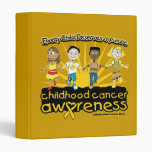Every Child Deserves A Future Childhood Cancer 3 Ring Binders