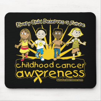 Every Child Deserves A Future Childhood Cancer Mouse Pads