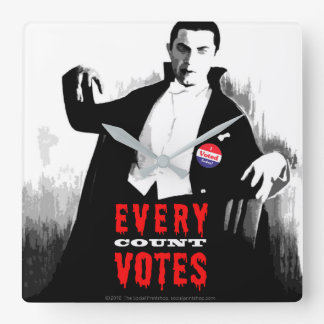 Every Count Votes Election Year Clock