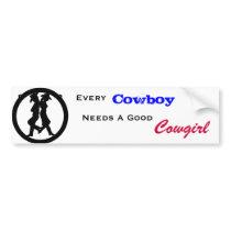 Every Cowboy Bumper Sticker